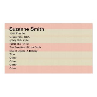 Faites la carte cuire au four de Bizz de magasin Carte De Visite Standard