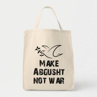 Faites la guerre d'Abgusht pas Sac En Toile Épicerie