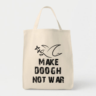Faites la guerre de Doogh pas Sac En Toile