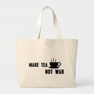 Faites la guerre de thé pas grand sac