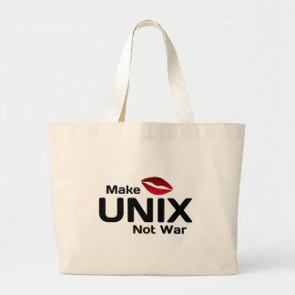 Faites la guerre d'UNIX pas Sacs