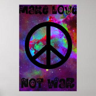 Faites la guerre I d'amour pas Posters