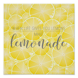 Faites la limonade poster
