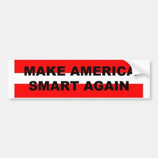 Faites l'adhésif pour pare-chocs de l'Amérique Autocollant De Voiture