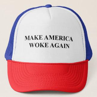 Faites l'Amérique a réveillé encore le casquette