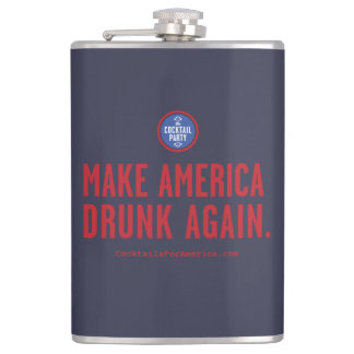 Faites l'Amérique bue encore Flasques