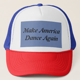 Faites l'Amérique danser encore le casquette