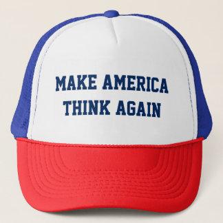 Faites l'Amérique penser encore - la casquette de
