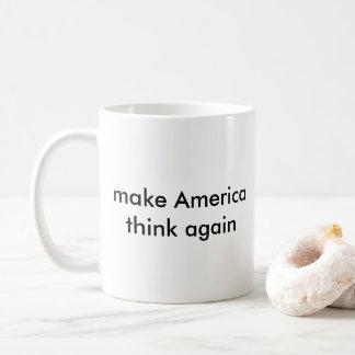 faites l'Amérique penser encore Mug