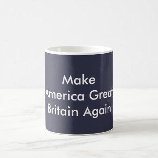 Faites le BLEU de tasse de café de l'Amérique