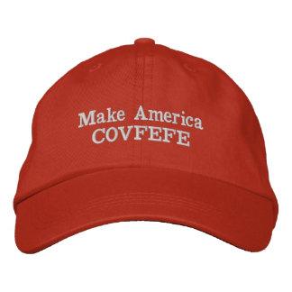 Faites le casquette de l'Amérique COVFEFE