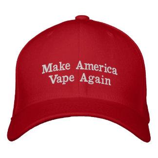 Faites le casquette de l'Amérique Vape encore. F