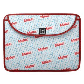 Faites le motif poches pour macbook pro