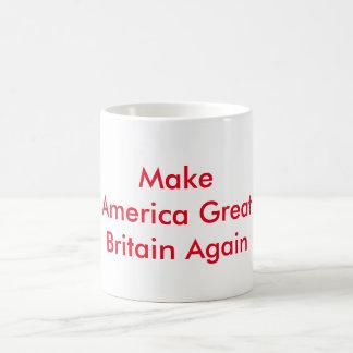 Faites le rouge de tasse de café de l'Amérique