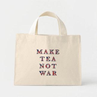 Faites le sac fourre-tout à guerre de thé pas