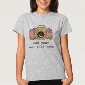 Faites le T-shirt d'appareil-photo de la