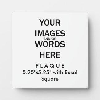 """Faites-le vous-même - la plaque 5,25"""" x5.25"""" avec"""