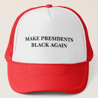 Faites les Présidents Black Again Casquette