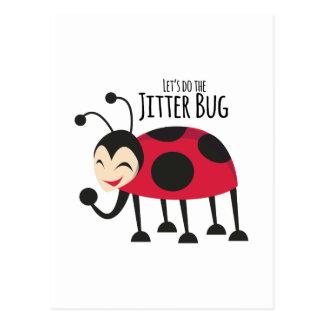 Faites l'insecte de frousse carte postale