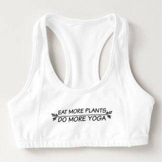 Faites plus de soutien-gorge de sports de yoga brassière
