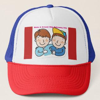 Faites un casquette de jour d'ami