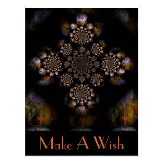 Faites un souhait 2 carte postale