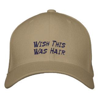 Faites un souhait casquette brodée