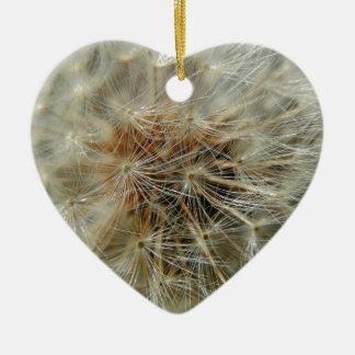 Faites un souhait ornement cœur en céramique