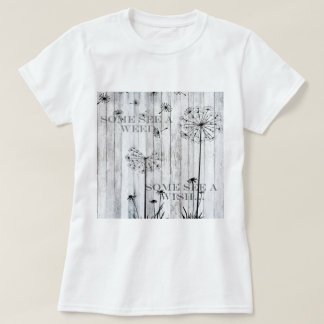 Faites un souhait t-shirt