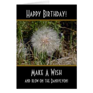 Faites une carte d'anniversaire de Dandylyon de