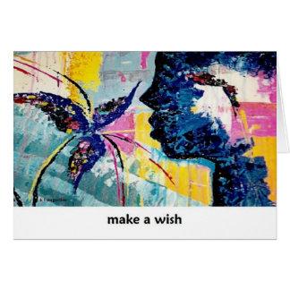 Faites une carte d'art de souhait par Augustine