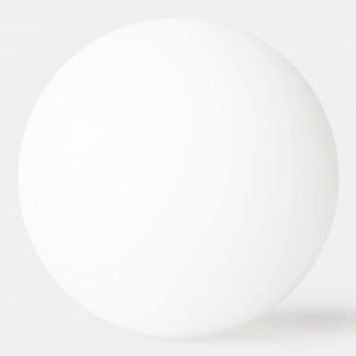 Faites vos propres trois boules de ping-pong balle tennis de table