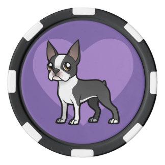 Faites votre propre animal familier de bande rouleau de jetons de poker