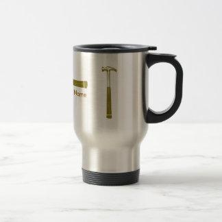 Faites votre propre construction mug de voyage