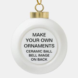 Faites votre propre ornement d'arbre de Noël de