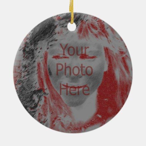 Faites votre propre ornement de photo