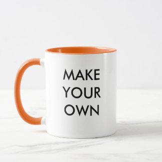 Faites votre propre tasse combinée faite sur