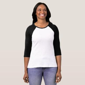 Faites votre t-shirt manches 3/4 Raglan