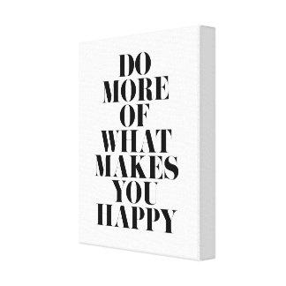 Faites-vous la citation de motivation minimale toile