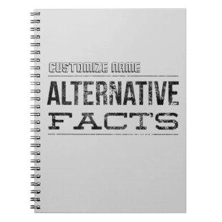 Faits alternatifs - personnalisables carnets