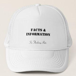 Faits et information, six casquettes de pensée