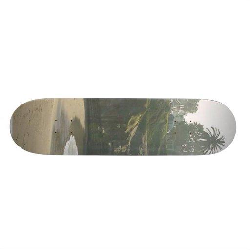 Falaise de mariage de sable de ressacs de crique d skateboards cutomisables