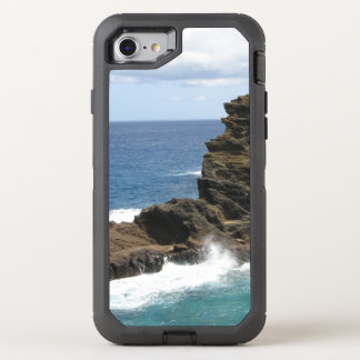 Falaise hawaïenne coque OtterBox defender iPhone 8/7