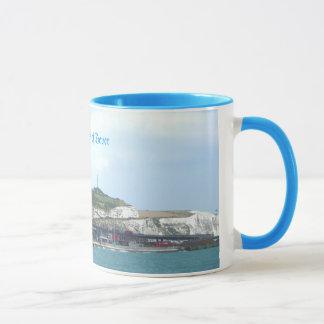 Falaises blanches tasse de souvenir de Douvres,