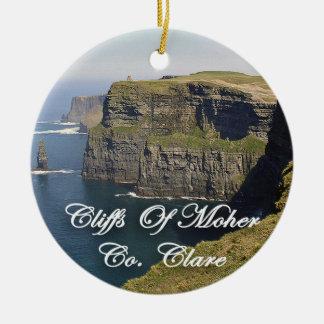 Falaises de Moher Irlande, ornement de Noël,