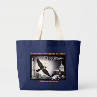 Falcons pérégrins de Rochester de sac fourre-tout