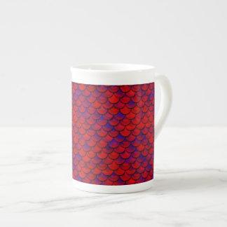Falln échelles rouges et de pourpre mug