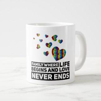 Famille d'autisme - tasse