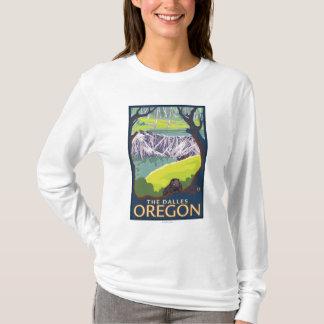 Famille de castor - le Dalles, Orégon T-shirt