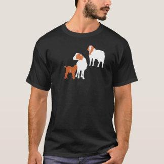 Famille de chèvre de Boer T-shirt
